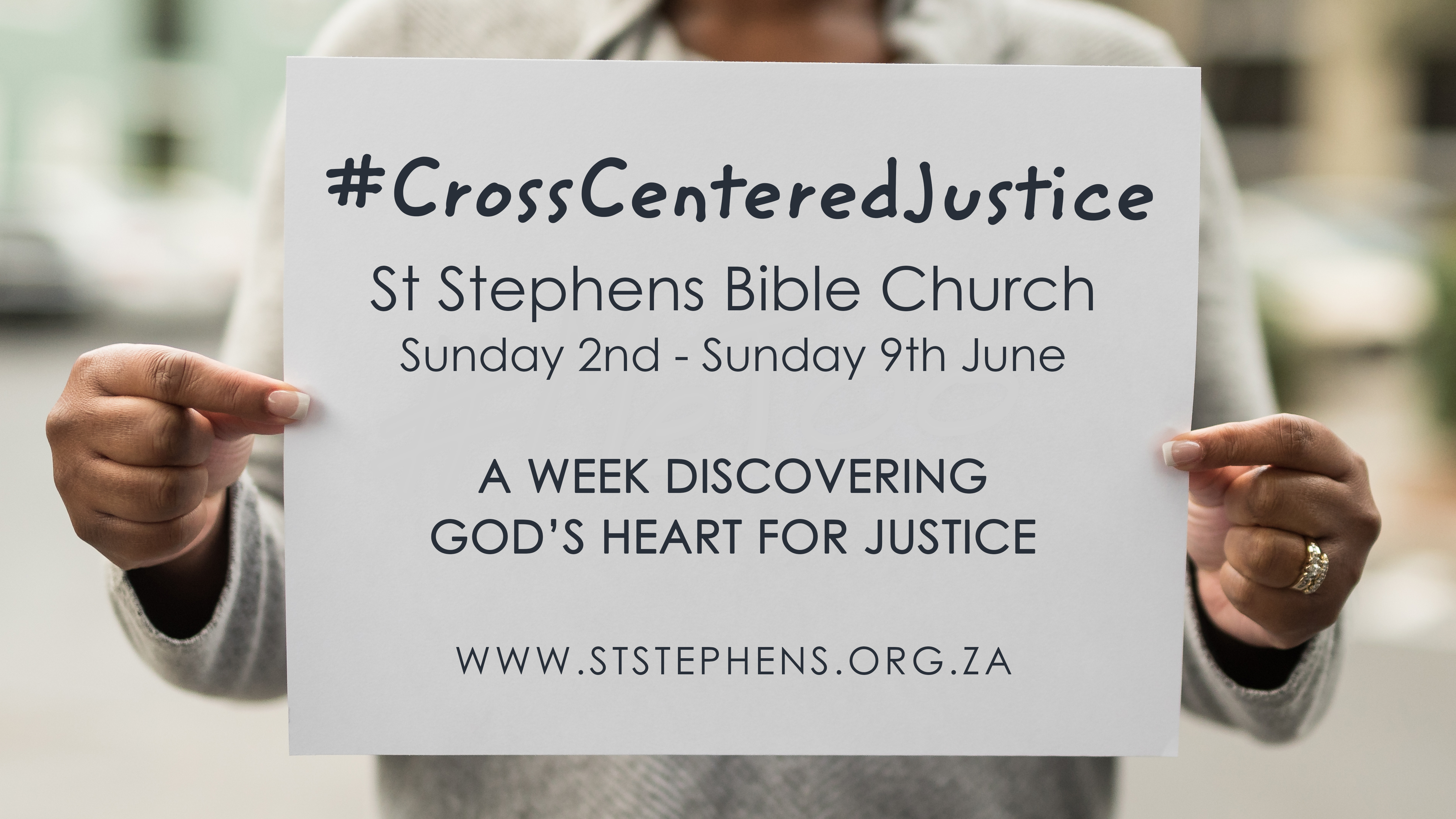 What is Cross-Centered Justice?