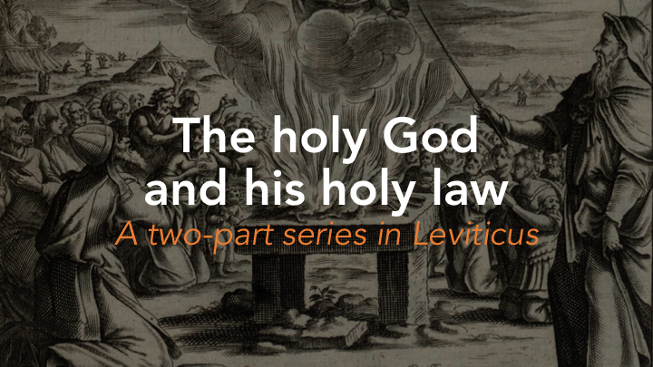 The holy and good law